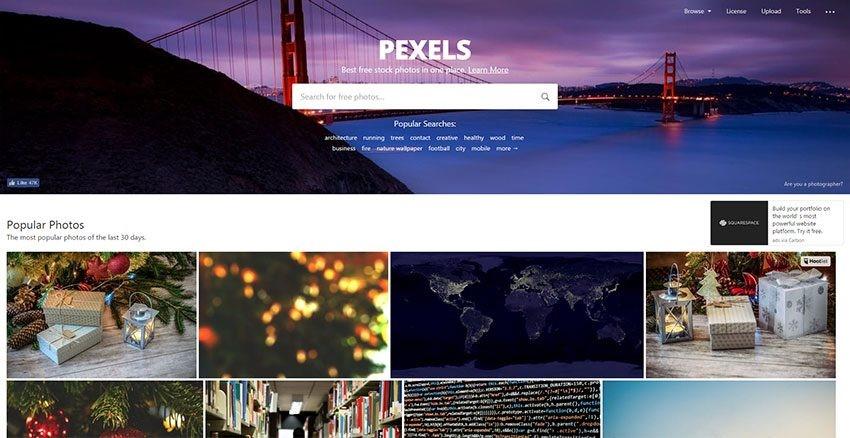 Pexels Bancos de imágenes gratis libres de derechos